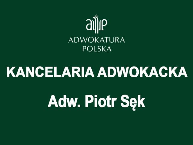 Kancelaria Adwokacka Adwokat Piotr Sęk - 1/1